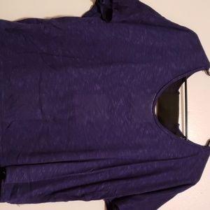 Paper tee blue shirt